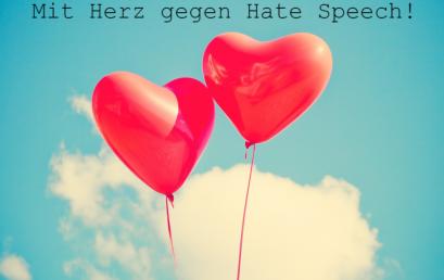 Mit Herz gegen hate speech!